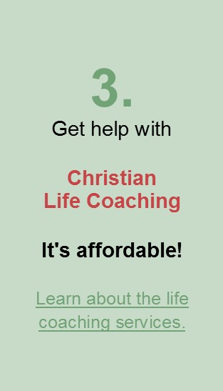 Get affordable Christian Life Coaching!