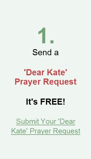 Send a 'Dear Kate' Prayer Request