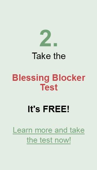 2. Take the Blessing Blocker Test